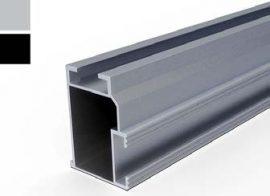 VS+ szerelősín 50 x 37 x 4200 mm (FEKETE)