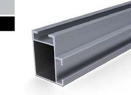 VS+ Mounting rail 41 x 35 x 4200 mm (BLACK)