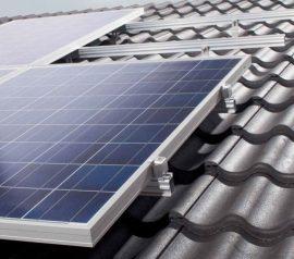 Tartószerkezet 1db napelem modul rögzítéséhez cseréptetőre